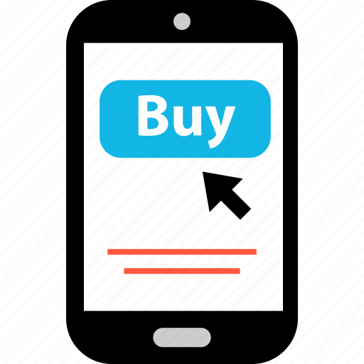 arrow, buynow, click, ecommerce, online, shop, shopping icon