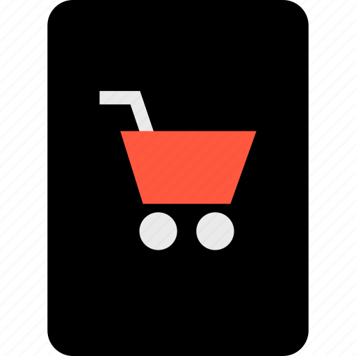 cart, ecommerce, online, passport, secured, shop, shopping icon