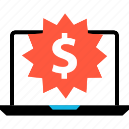 dollar, ecommerce, online, price, shop, shopping, tag icon
