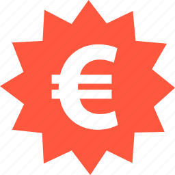 ecommerce, euro, online, save, shop, shopping, tag icon