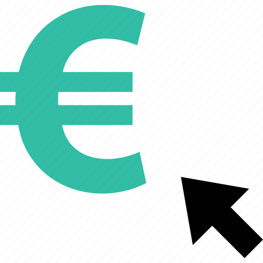 ecommerce, euro, money, online, shop, shopping, sign icon