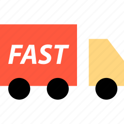 ecommerce, fast, online, shipping, shop, shopping, truck icon