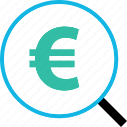 ecommerce, find, money, online, search, shop, shopping icon