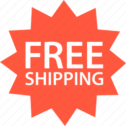 ecommerce, free, online, shipping, shop, shopping, tag icon