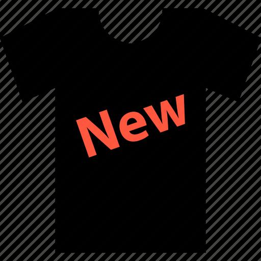 ecommerce, new, online, shop, shopping, tee, tshirt icon