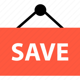 ecommerce, event, online, save, savings, shop, shopping icon
