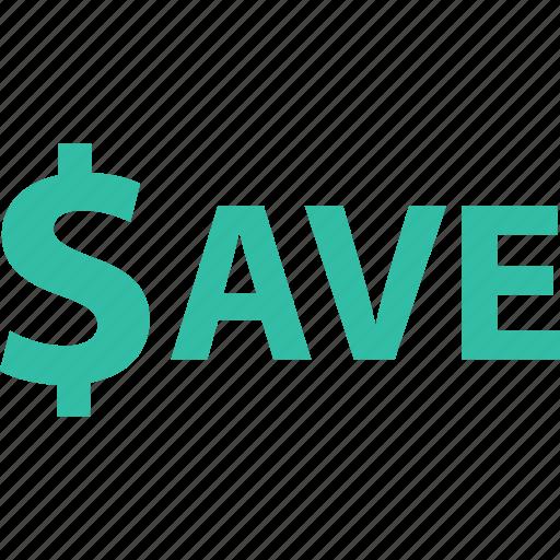 big, ecommerce, online, save, savings, shop, shopping icon