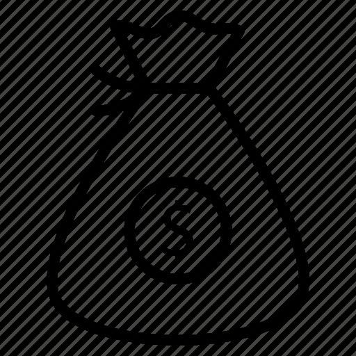 bags, cash, money, online, wallet icon