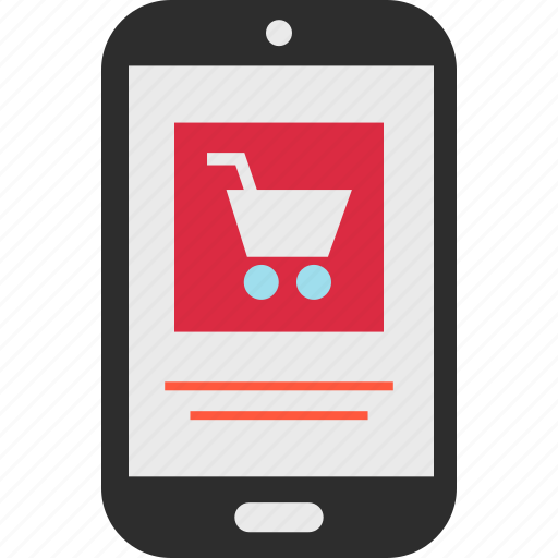 cart, checkout, ecommerce, mobile, shop, shopping icon