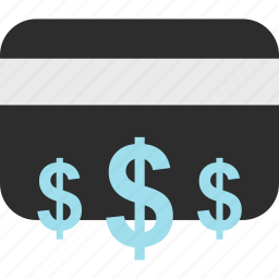 card, credit, debit, dollar, ecommerce, shop, shopping icon