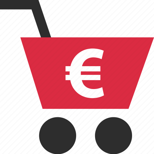 add, cart, ecommerce, euro, go, shop, shopping icon