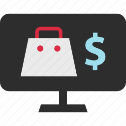 bag, dollar, ecommerce, mall, shop, shopping, sign icon