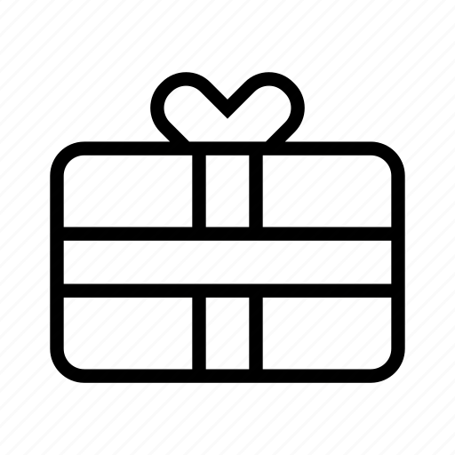 e-commerce, free, gift, present, shopping icon