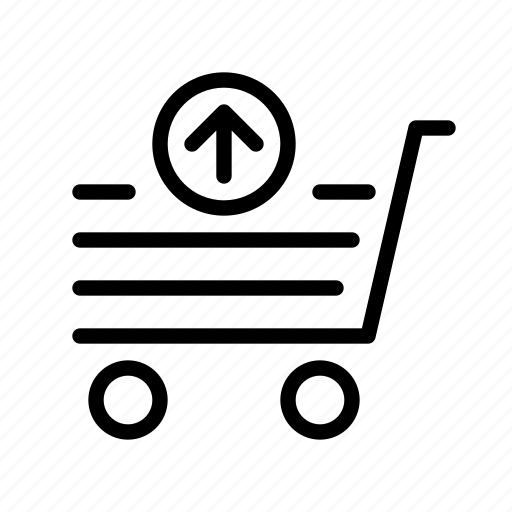 e-commerce, market, remove, sell, shopping icon