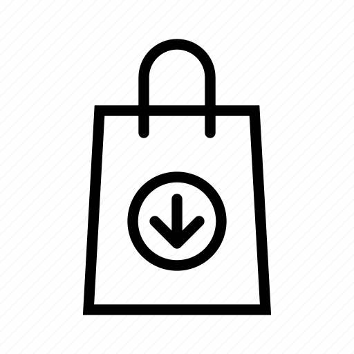 bag, download, e-commerce, sell, shoping, shopping icon