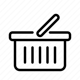 basket, cart, e-commerce, sell, shoping, shopping icon