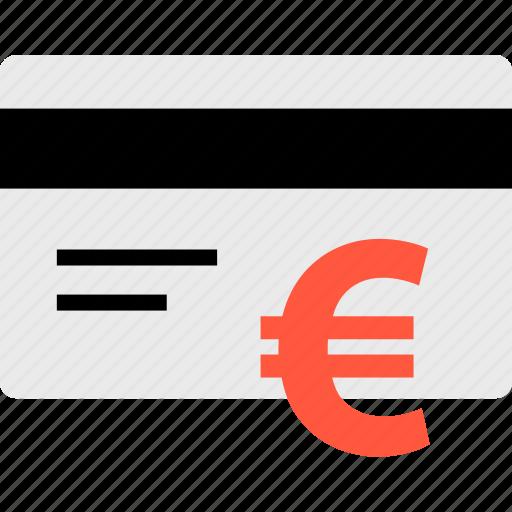 card, debit, ecommerce, euro, online, shop, shopping icon
