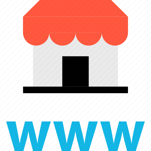 business, ecommerce, online, shop, shopping, store, www icon