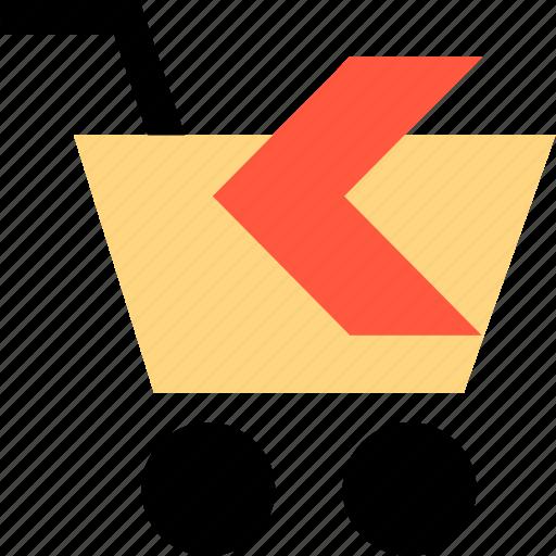 arrow, back, ecommerce, left, shop, shopping icon