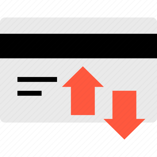 activity, card, credit, transactions icon