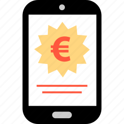 ave, ecommerce, euro, savings, shop, shopping, tag icon