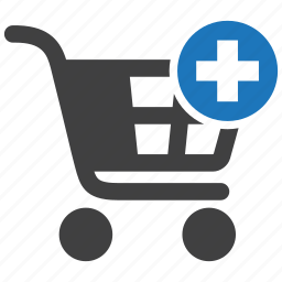 add, buy, cart, ecommerce, plus, shopping icon