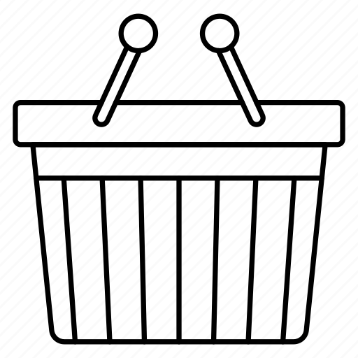 basket, buying, trolley icon