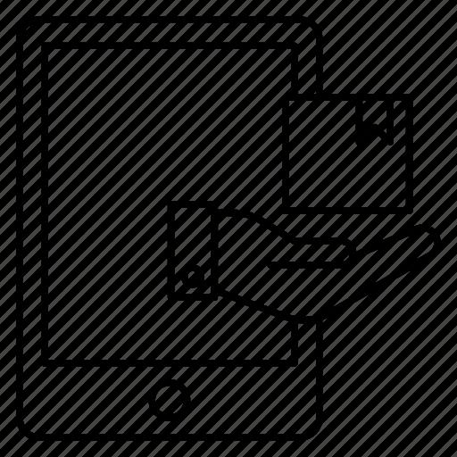box, care, delivery icon