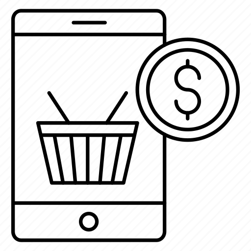 Basket, ecommerce, mobile icon - Download on Iconfinder