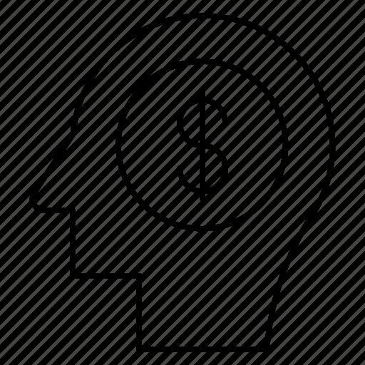 Coin, head, mind icon - Download on Iconfinder on Iconfinder