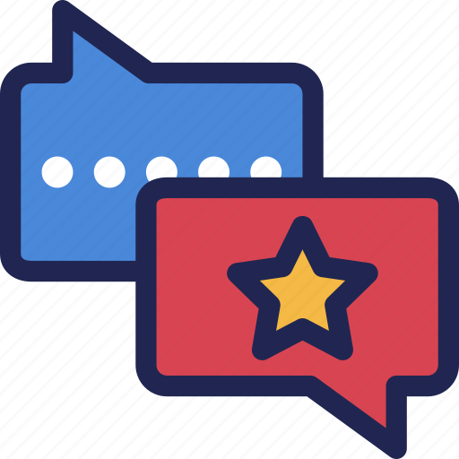 comment, feedback, good, message, review icon