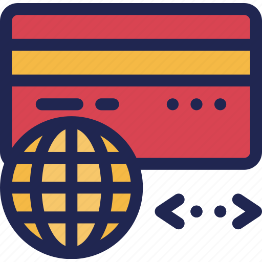 card, credit, finance, internet, online, payment icon
