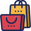 bag, gift, sale, shopping icon