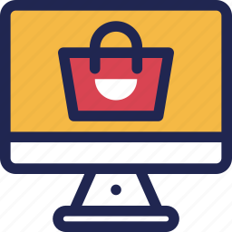 bag, gift, online, present, shopping, store, web icon