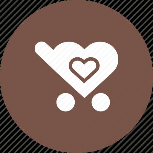 add, cart, favorite, love, to, wishlist icon