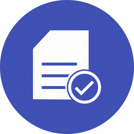 catalogue, checklist, document, verified icon