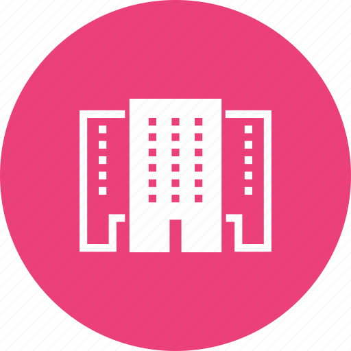 building, hospital, hotel, mall, school, shopping icon