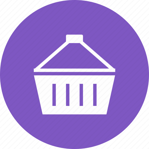 bag, basket, carrier, container, holder icon
