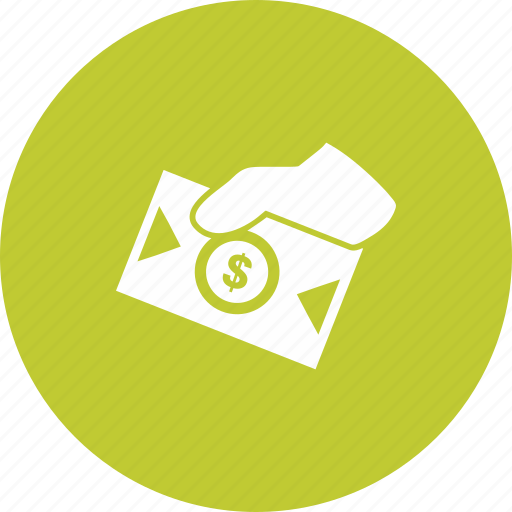 Cash, dollars, envolope, money, sharing icon - Download on Iconfinder