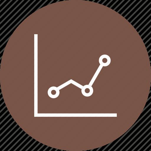 figures, graph, progress, statistics icon