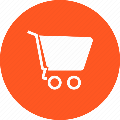 cart, empty, shopping, trolley icon