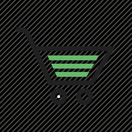 basket, cart, shopping icon