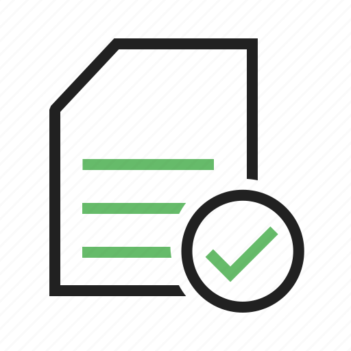 checklist, document, items, paper, task icon