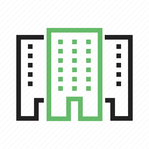 building, office, shop, shopping, store icon