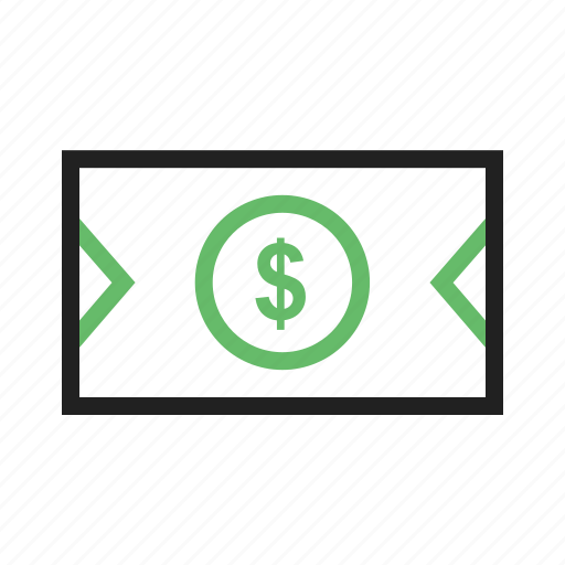 bank, bill, currency, dollar, money icon