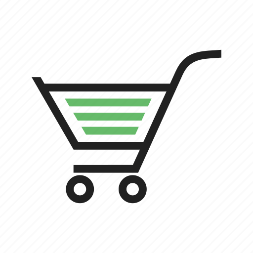 basket, business, carrier, cart, shopping, trolley icon
