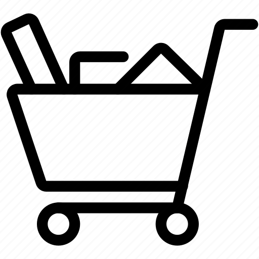 cart, checkout, full, shopping icon