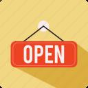 book, lock, open, shop icon