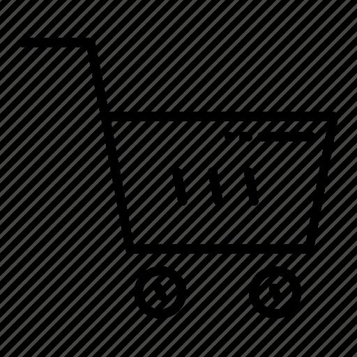 bag, basket, cart, online, shopping, shopping bag, shopping basket icon