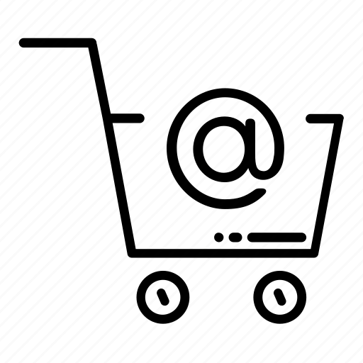 basket, cart, email, mail, newsletter, promo, shopping icon